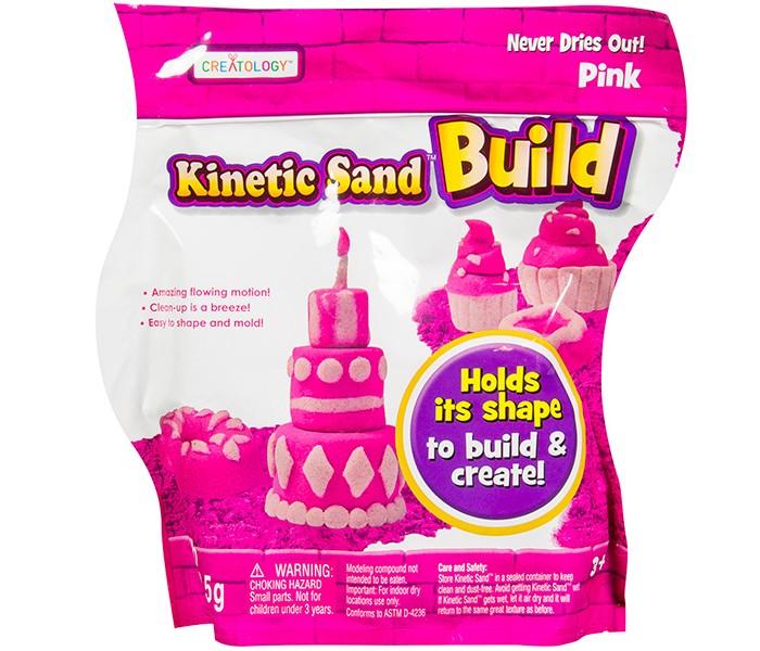 Всё для лепки Kinetic Sand Песок для лепки Build 454 г (набор из 2 цветов) kinetic sand серия build 2 цвета синий сиреневый 454 гр