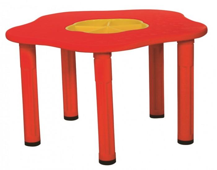 Пластиковая мебель King Kids Детский столик Сэнди мебель для хранения