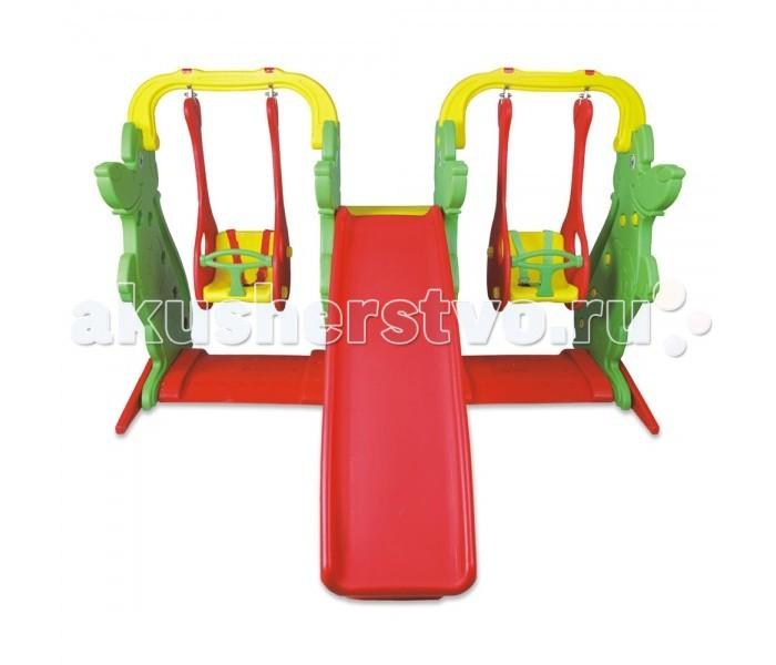 Летние товары , Игровые комплексы King Kids Игровой комплекс для двойни и погодков KK_KS9060-B арт: 494576 -  Игровые комплексы