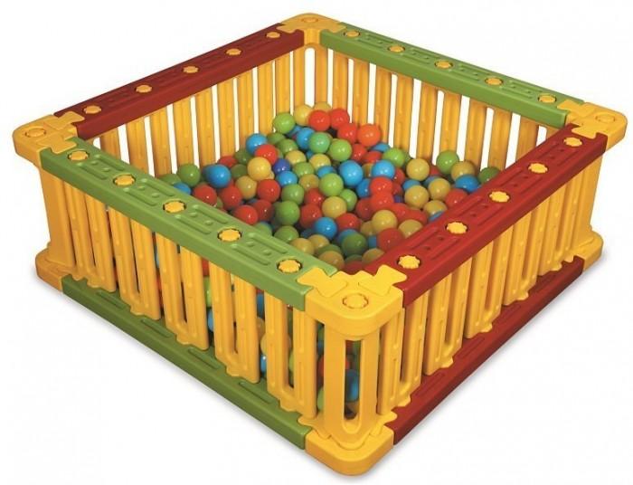Сухие бассейны King Kids Квадратный манеж для шаров 51 см, Сухие бассейны - артикул:494401