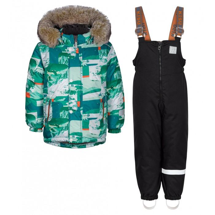 Купить Утеплённые комплекты, Kisu Комплект для мальчика зимний W19-10201/9061