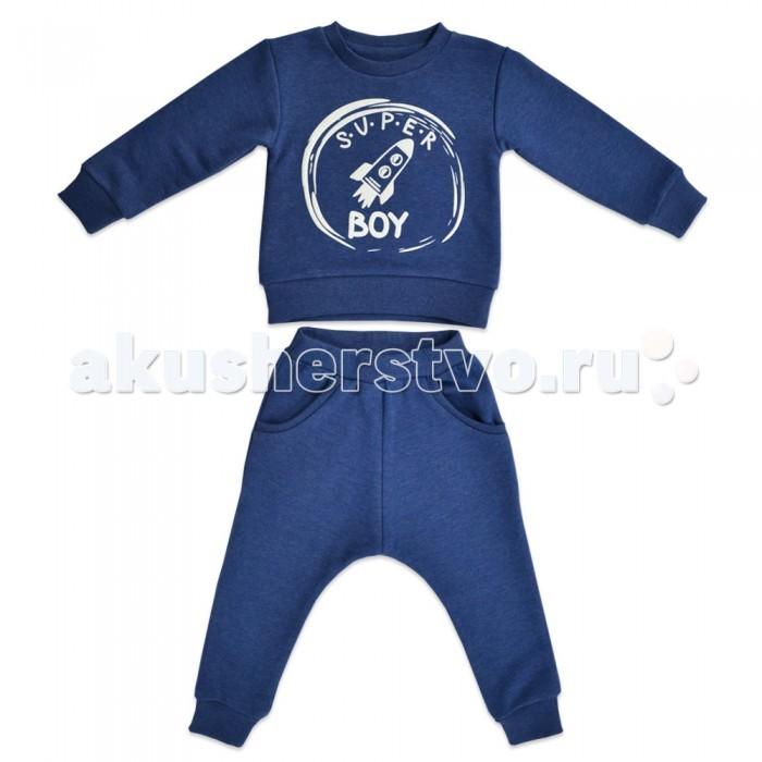 Детская одежда , Комплекты детской одежды Кит Костюм для мальчика (джемпер и штаны) с принтом 271-626 арт: 466766 -  Комплекты детской одежды