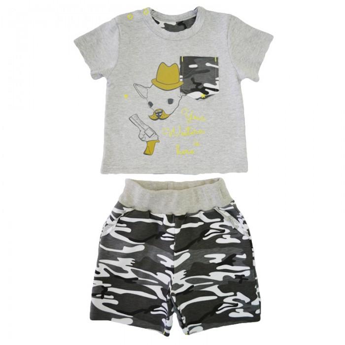 Детская одежда , Комплекты детской одежды Кит Костюм (футболка и шорты) 271-581 арт: 350680 -  Комплекты детской одежды