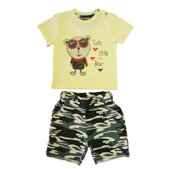 Комплекты детской одежды Кит Костюм (футболка и шорты) 271-584
