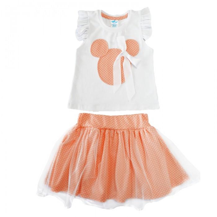 Комплекты детской одежды Кит Костюм (кофта и юбка) 271-580