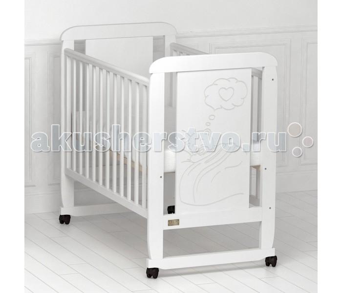 Детские кроватки Kitelli (Kito) Amore качалка детская кроватка kito amore с поперечным маятником