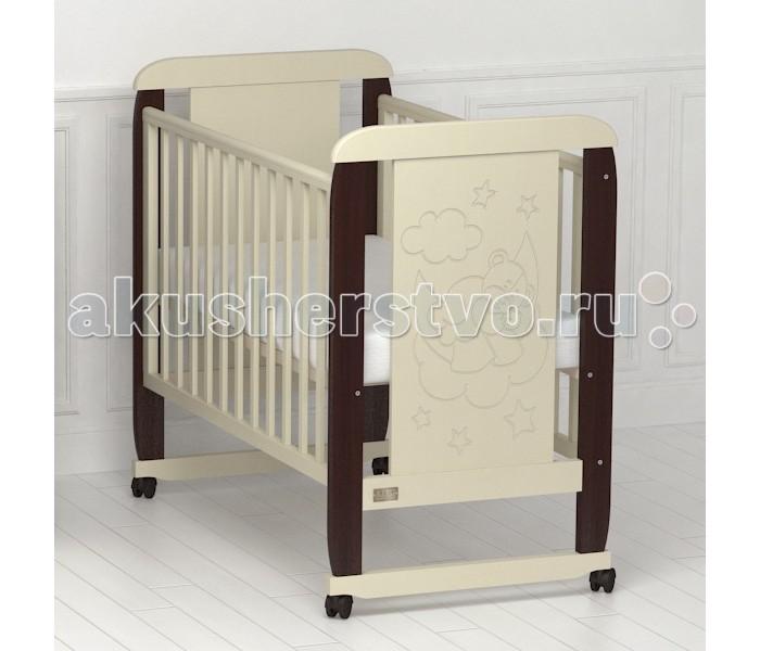 Детские кроватки Kitelli (Kito) Orsetto качалка детская кроватка kito amore с поперечным маятником
