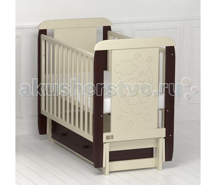 Детские кроватки Kitelli (Kito) Orsetto продольный маятник детские кроватки kitelli kito amore продольный маятник