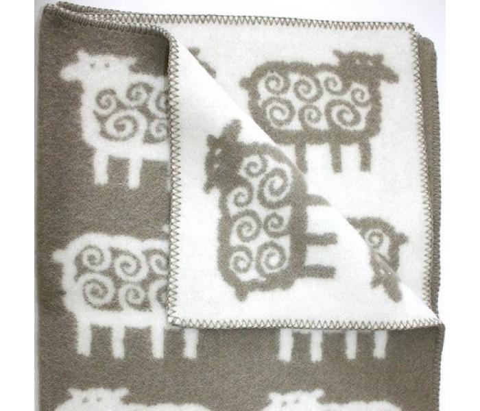 Одеяло Klippan из эко-шерсти 90х130 см