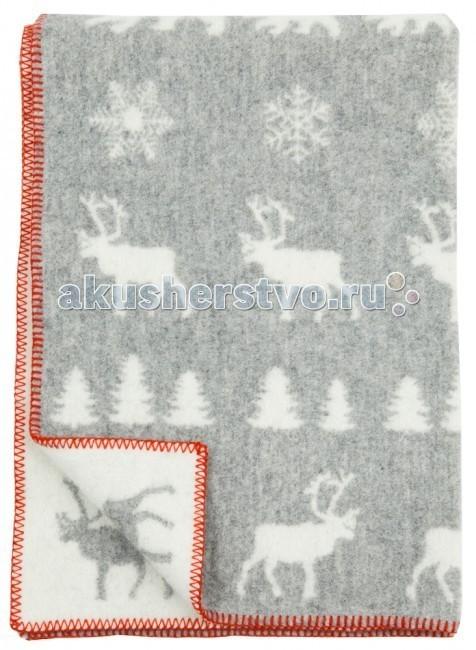 Одеяла Klippan из эко-шерсти 90х130 см одеяла klippan байковое 70х90 см