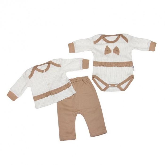 Детская одежда , Комплекты детской одежды Клякса Комплект для девочки Горошинка 33С-3173 арт: 426644 -  Комплекты детской одежды