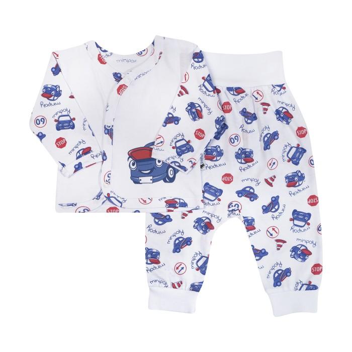 Клякса Комплект для мальчика (кофточка, штанишки) 10К-5221