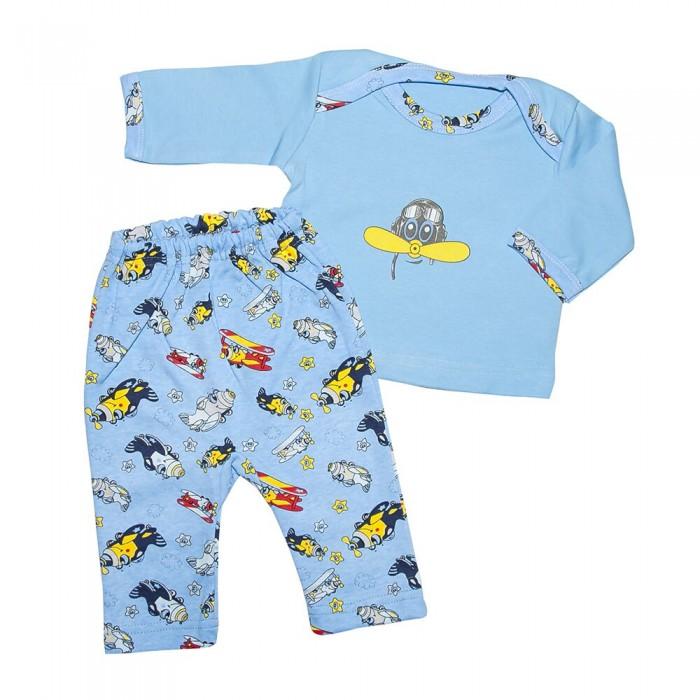 Комплекты детской одежды Клякса Костюм для мальчика (футболка и штанишки) комплекты детской одежды мамуляндия комплект для мальчика полукомбинезон и футболка клякса