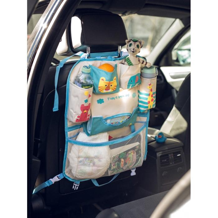 Аксессуары для автомобиля Клювонос Органайзер на автомобильное кресло Жираф