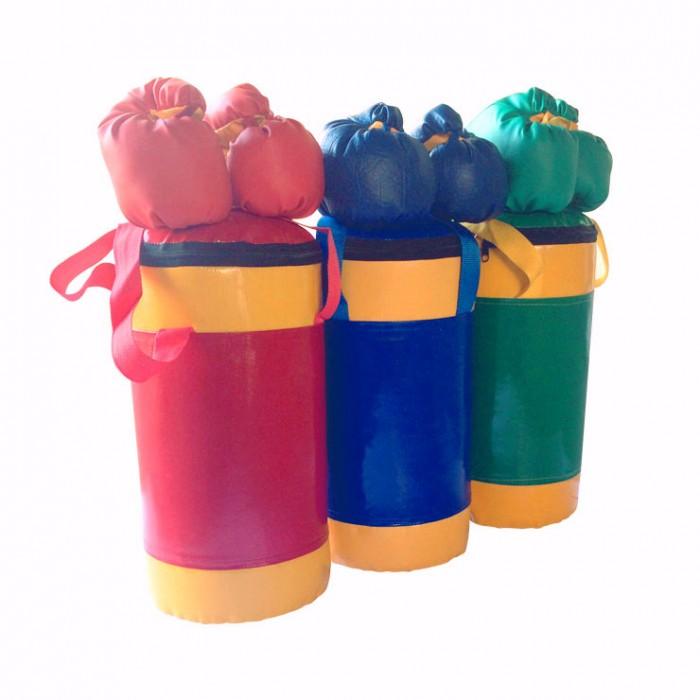 Спортивный инвентарь KMS-sport Набор боксерский детский № 2 боксерский мешок dfc hbl4 130х45 кожа