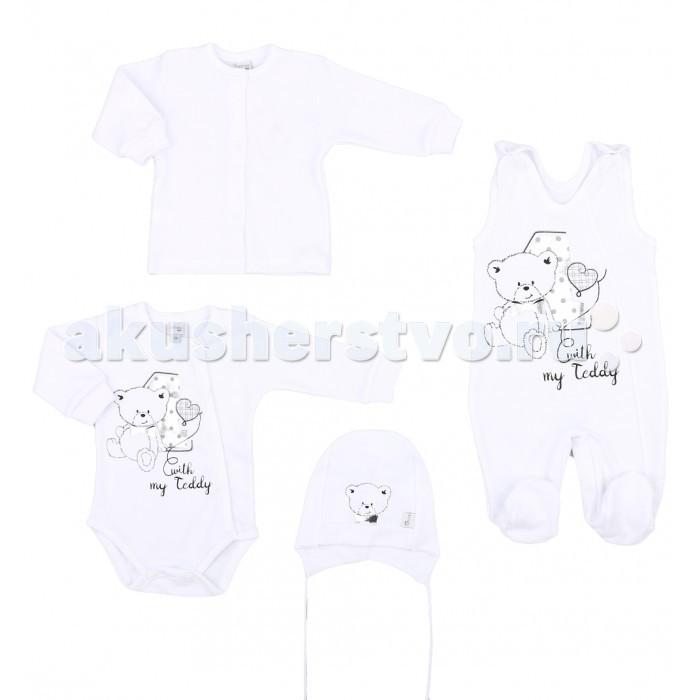 Детская одежда , Комплекты детской одежды Koala Комплект 4 предмета Teddy арт: 460591 -  Комплекты детской одежды