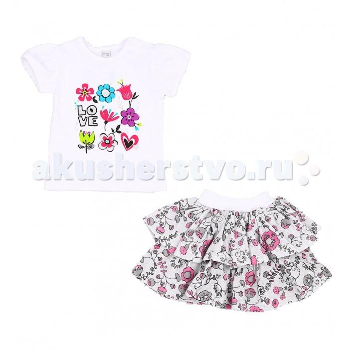 Детская одежда , Комплекты детской одежды Koala Комплект (футболка, юбка) Rozalia арт: 460491 -  Комплекты детской одежды