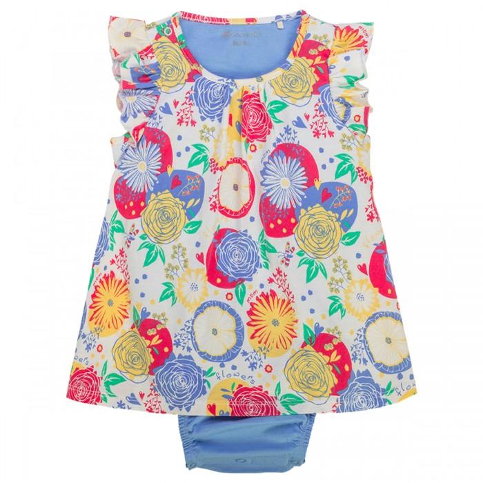 Боди и песочники Kogankids Боди-платье для девочки боди и песочники kogankids боди для мальчика 172 004 31