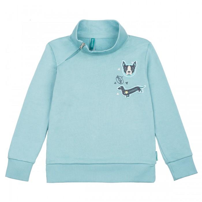 Джемперы, свитера, пуловеры Kogankids Джемпер для мальчика Забавные собачки 162-321