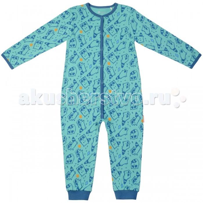 Комбинезоны и полукомбинезоны Kogankids Комбинезон для сна для мальчика 172-046-34