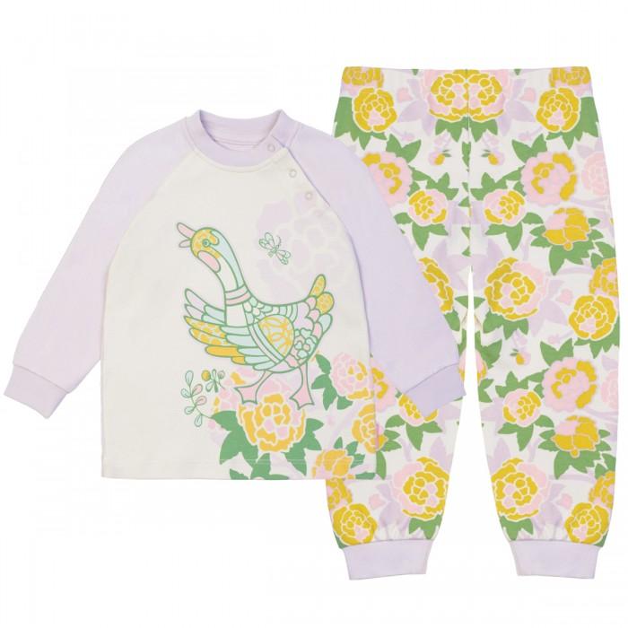 Пижамы и ночные сорочки Kogankids Пижама для девочки 171-144-35 пижамы kom пижама