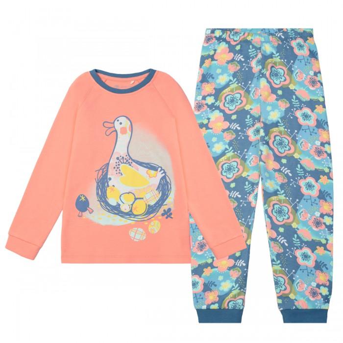 Детская одежда , Пижамы и ночные сорочки Kogankids Пижама для девочки 171-245-04 арт: 438424 -  Пижамы и ночные сорочки