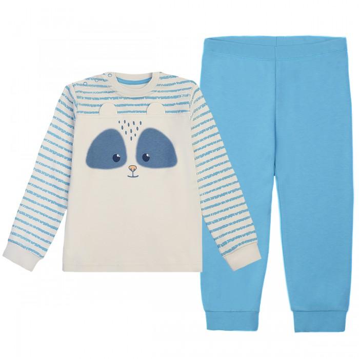Пижамы и ночные сорочки Kogankids Пижама для мальчика 172-144-31 боди и песочники kogankids боди для мальчика 172 004 31