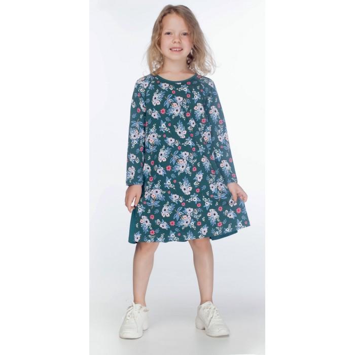 Kogankids Платье для девочки Цветы