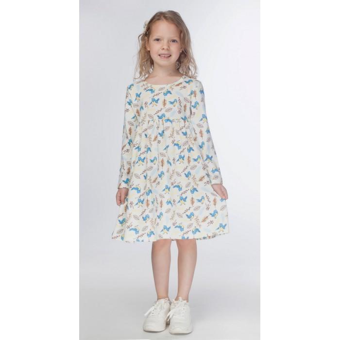 Kogankids Платье для девочки Птички