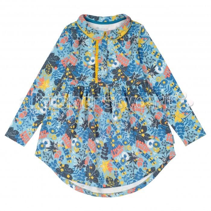 Детская одежда , Детские платья и сарафаны Kogankids Платье Листопад 151-329-37 арт: 372928 -  Детские платья и сарафаны