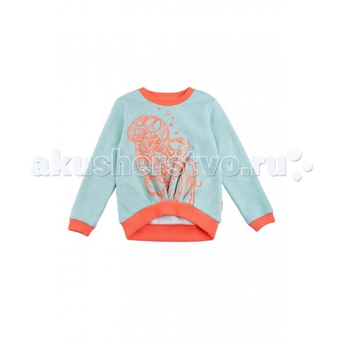Джемперы, свитера, пуловеры Kogankids Джемпер для девочки 091-022 пуловеры