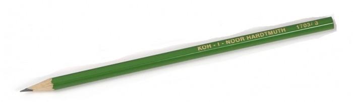 Карандаши, восковые мелки, пастель Koh-i-Noor Карандаш чернографитный Alpha H