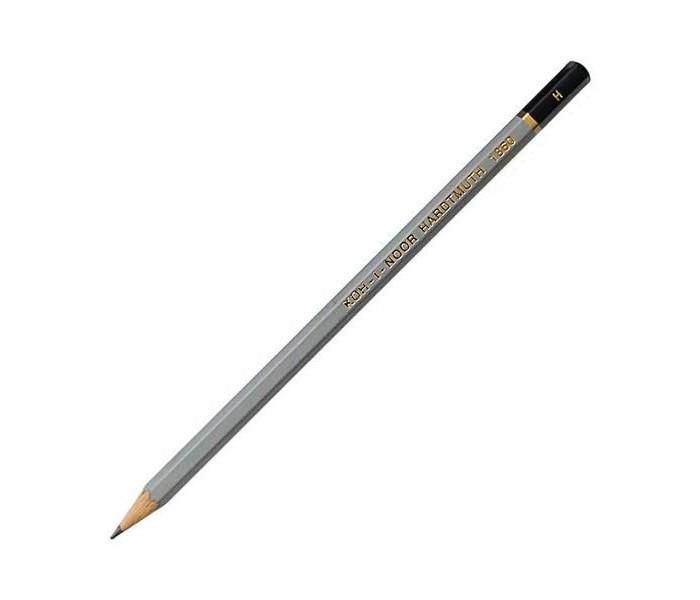 Карандаши, восковые мелки, пастель Koh-i-Noor Карандаш чернографитный Gold Star H