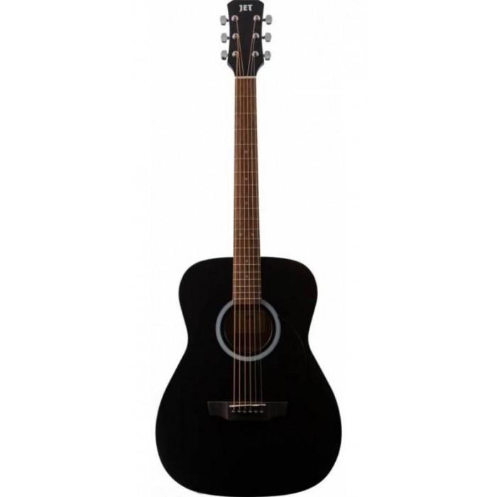 Музыкальный инструмент Jet Акустическая гитара JF-155 BKS фото