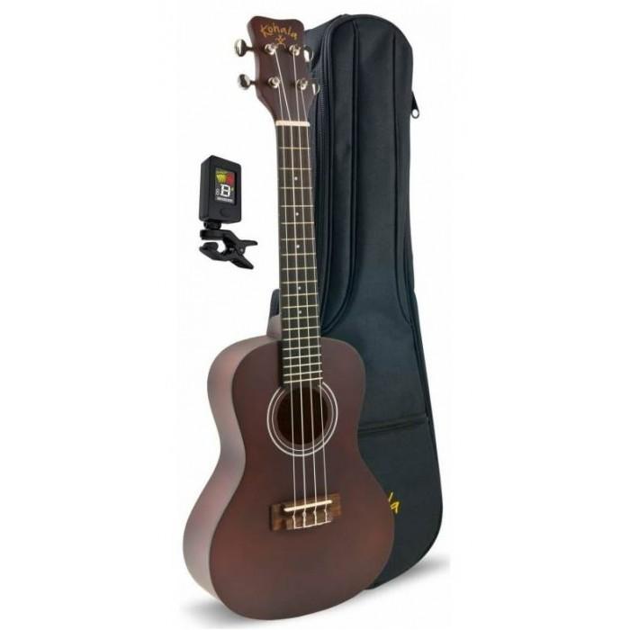 Музыкальный инструмент Kohala Набор: укулеле KPP-S, тюнер и чехол