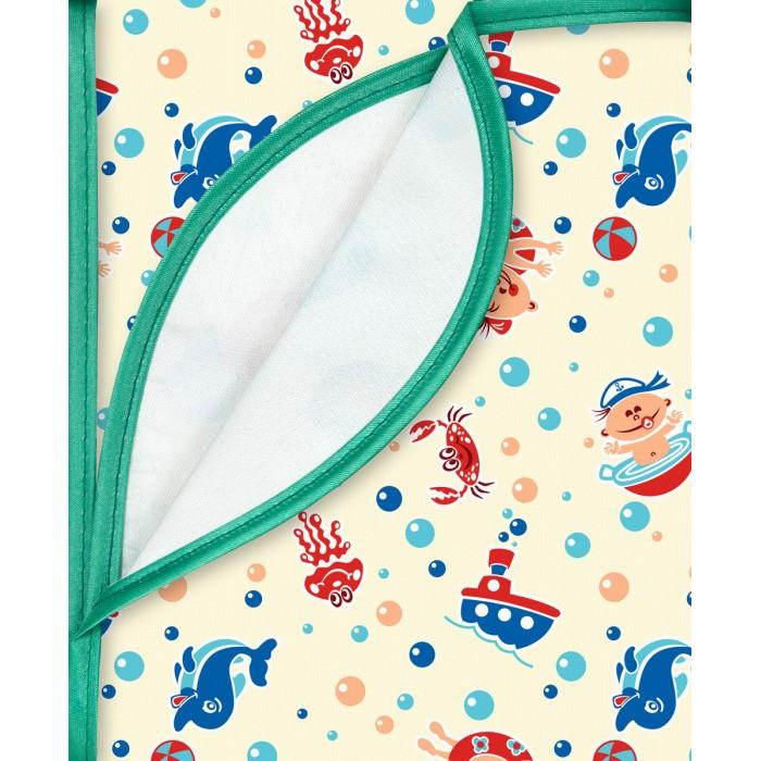 Детские клеенки Колорит Клеенка с ПВХ покрытием с резинкой-держателем 50x70 см
