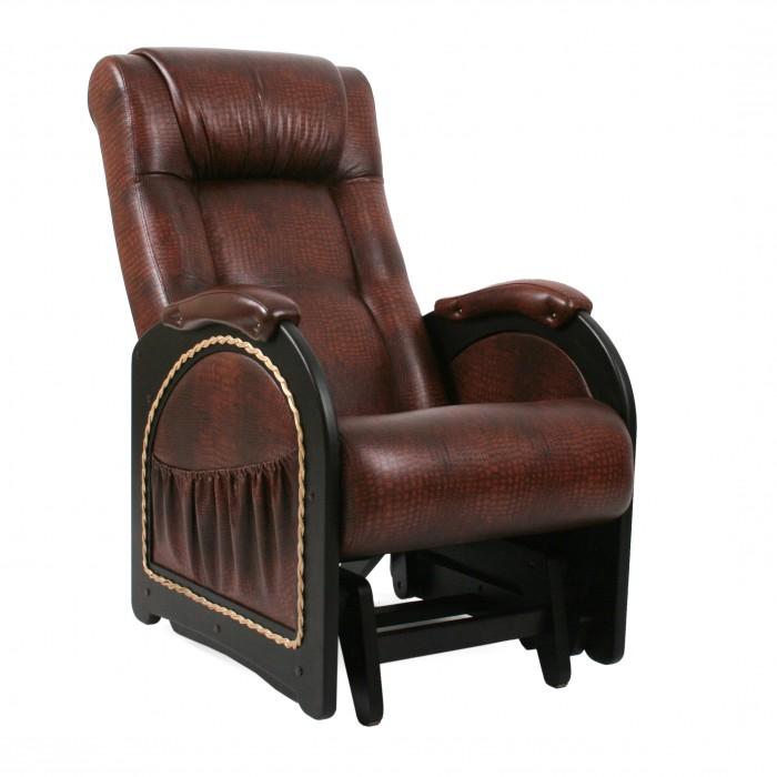 Купить Кресла для мамы, Кресло для мамы Комфорт Глайдер Венге с лозой МИ 48
