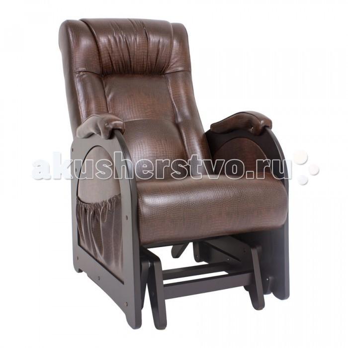 Кресло для мамы Комфорт Глайдер Венге без лозы МИ 48