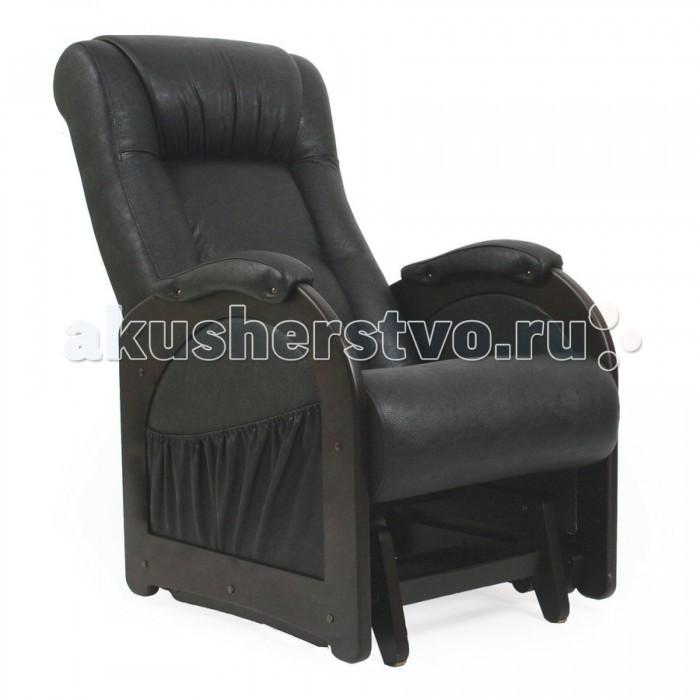 Кресла для мамы Комфорт Глайдер Венге без лозы МИ 48, Кресла для мамы - артикул:510501