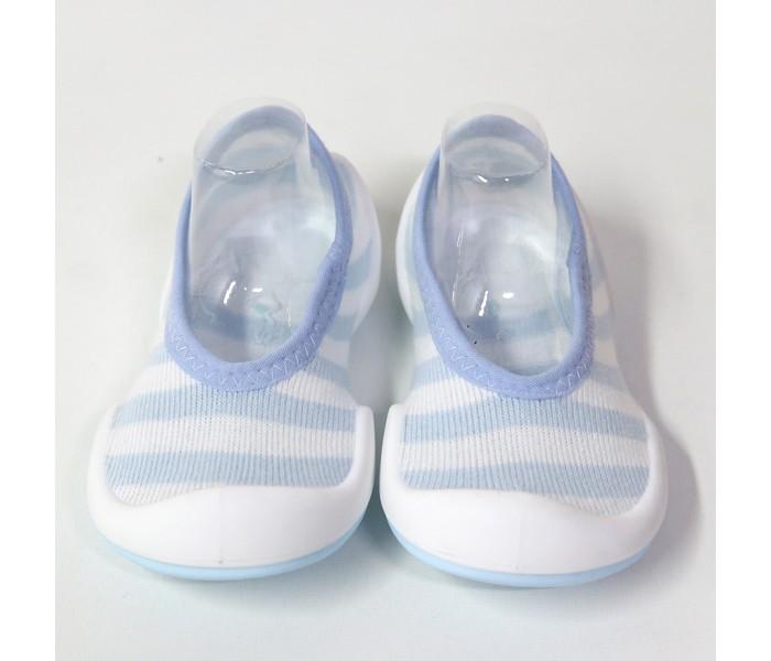Komuello Ботиночки-носочки Flat Blue Stripe