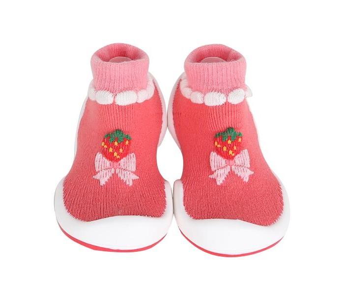 Komuello Ботиночки-носочки Strawberry