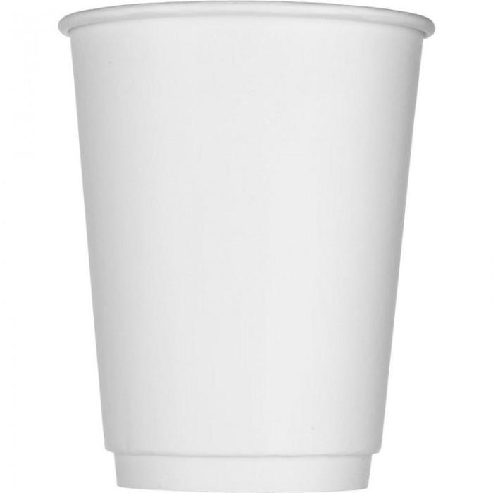Купить Товары для праздника, Комус Стакан одноразовый бумажный двухслойный 300 мл 25 шт.