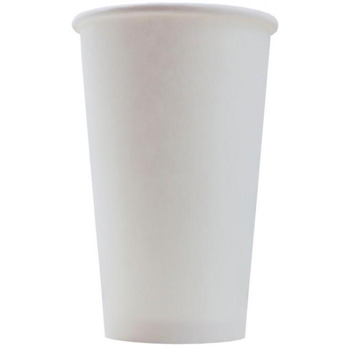 Купить Товары для праздника, Комус Стакан одноразовый бумажный однослойный 400 мл 50 шт.