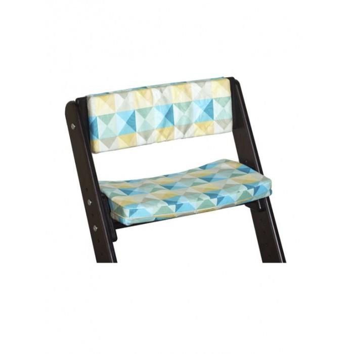 Фото - Аксессуары для мебели Конёк Горбунёк Комплект подушек для стула на спинку и сиденье детский растущий стул из бука конёк горбунёк