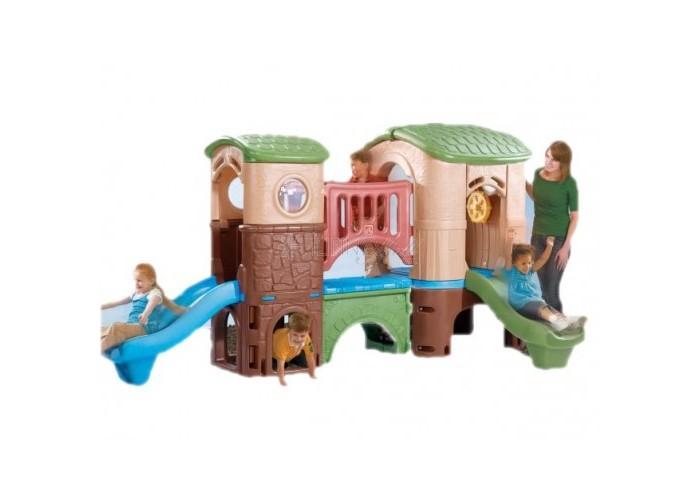 Step 2 Игровой центр КорабльИгровой центр КорабльИгровой центр Корабль разработан для детей, которые будут бегать, кататься с горки, и ползать в течение многих часов! - сделано в США; - мостик соединяет две башни, в которых находятся горки; - широкая лесенка с держателями для рук; - нижний уровень, где можно поползать; - максимальная нагрузка 240 кг.; - при сборке следуйте прилагаемой инструкции.  Высота: 178 см  Длина: 348 см  Ширина: 232 см<br>