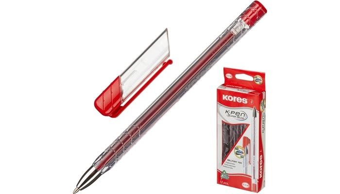 Канцелярия Kores Ручка шариковая К11 масляная M треугольный корпус 1 мм