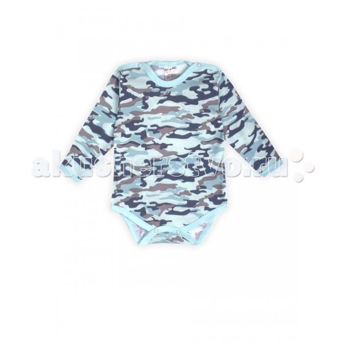 Боди и песочники КотМарКот Боди для мальчика 9450 Army Baby котмаркот боди для мальчика котмаркот