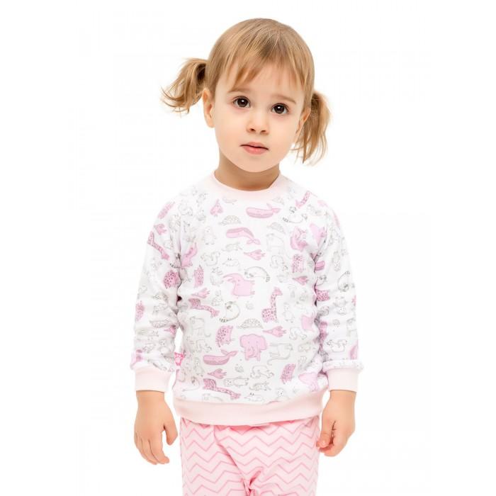 Распашонки и ползунки КотМарКот Кофточка для девочки Воздушный зоопарк кофточка для маленькой девочки чудесные одежки
