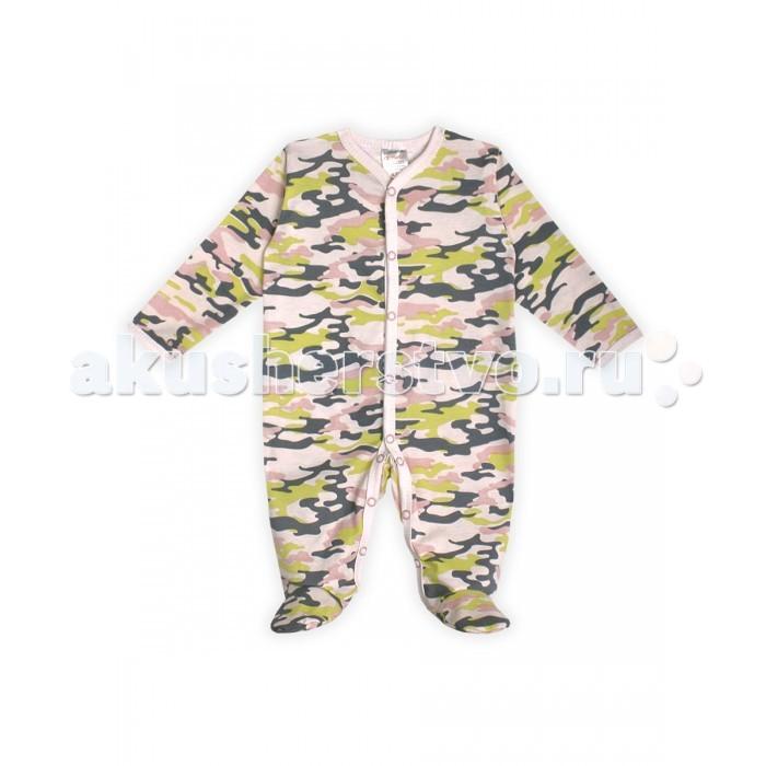 Комбинезоны и полукомбинезоны КотМарКот Комбинезон для девочки 6251 Army Baby