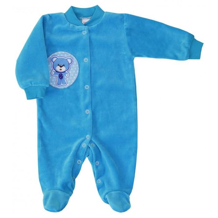 КотМарКот Комбинезон для мальчика Baby Care Мишка